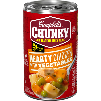 Hearty Chicken with Vegetables Soup