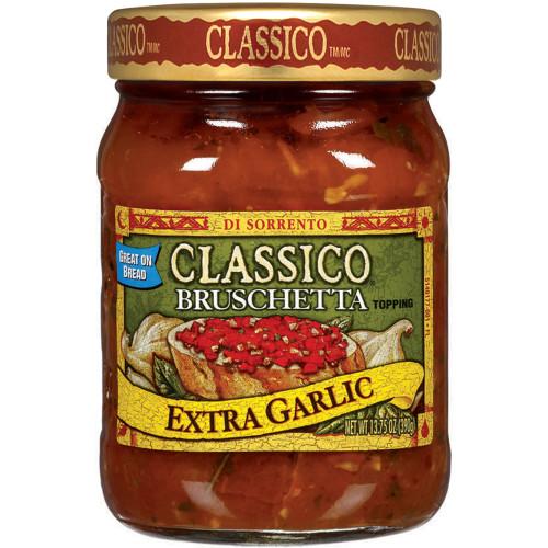 Extra Garlic Bruschetta
