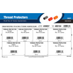 "Thread Protectors Assortment (Fits #6 thru 1/2"" Screws)"