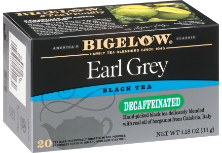 Earl Grey Decaf Tea - Case of 6 boxes- total of 120 teabags