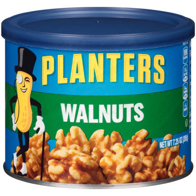 Planters Walnuts, 7.25 oz Canister