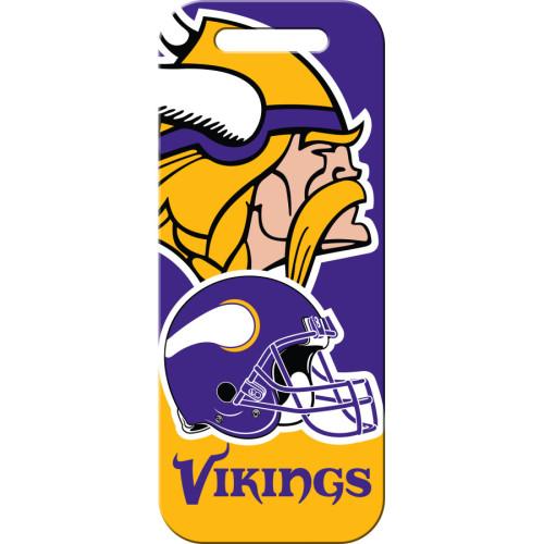 Minnesota Vikings Large Luggage Quick-Tag 5 Pack