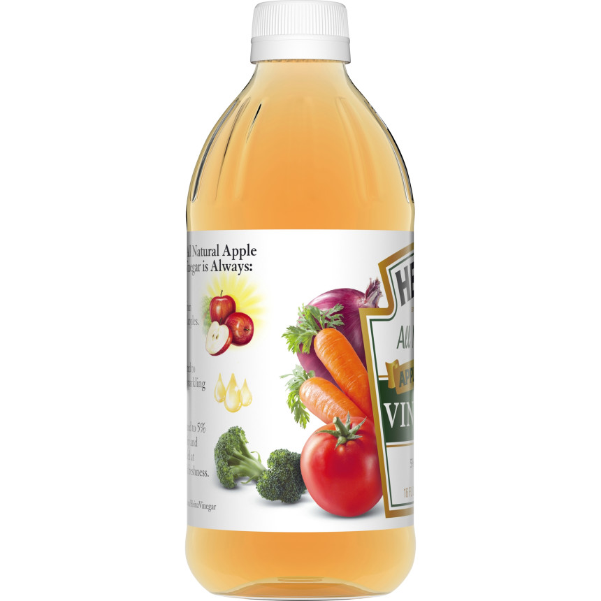 Heinz Apple Cider Vinegar, 12 - 16 fl oz Bottles