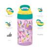 Zak Hydration 16 ounce Water Bottle, Cactus, Flamingos and Pineapples, 2-piece set slideshow image 5