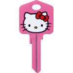 Hello Kitty Pink Key Blank