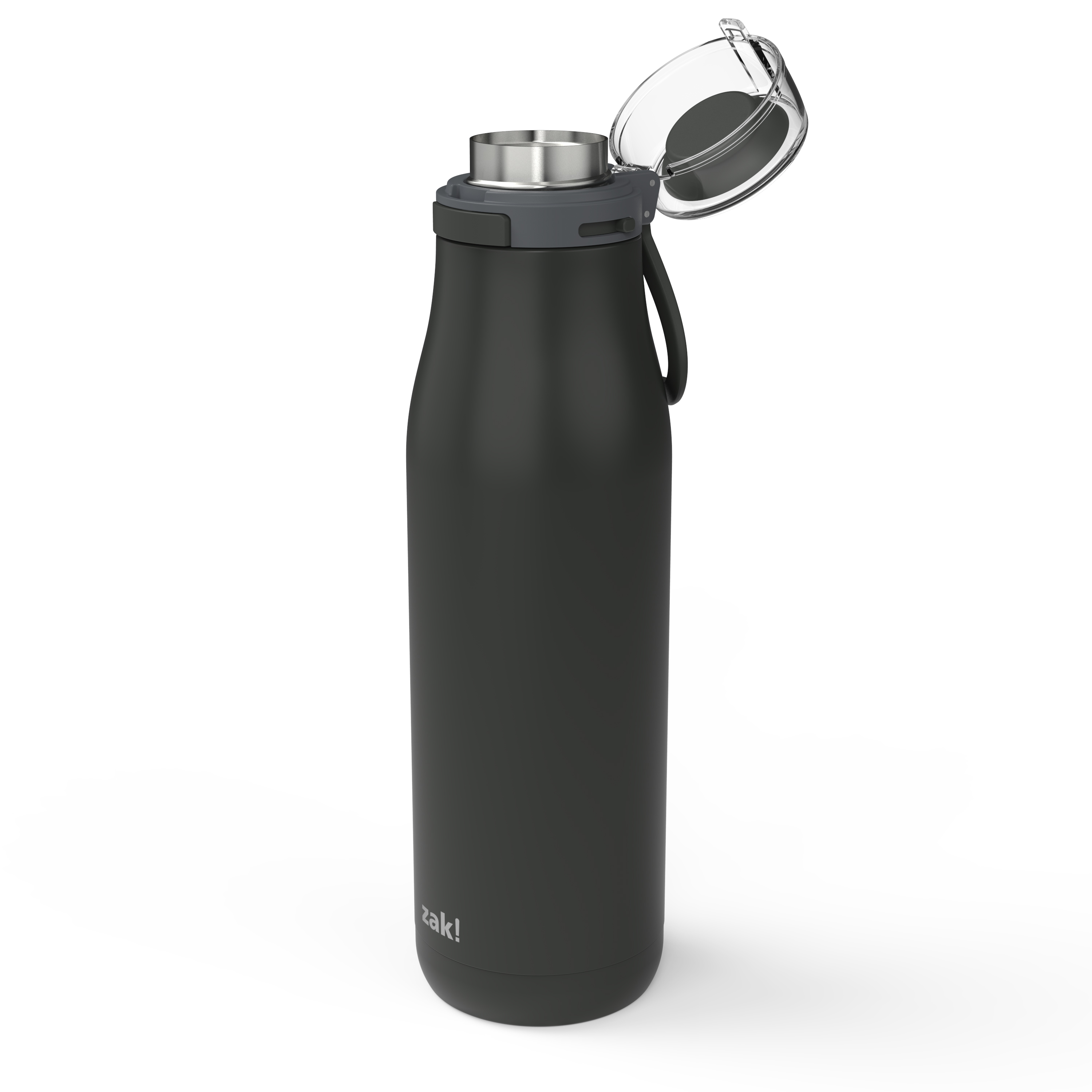 Kiona 29 ounce Vacuum Insulated Stainless Steel Tumbler, Charcoal slideshow image 5
