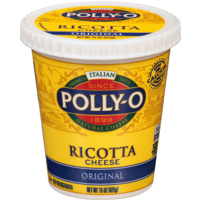 Polly-O Original Whole Milk Ricotta Cheese 15 oz Tub