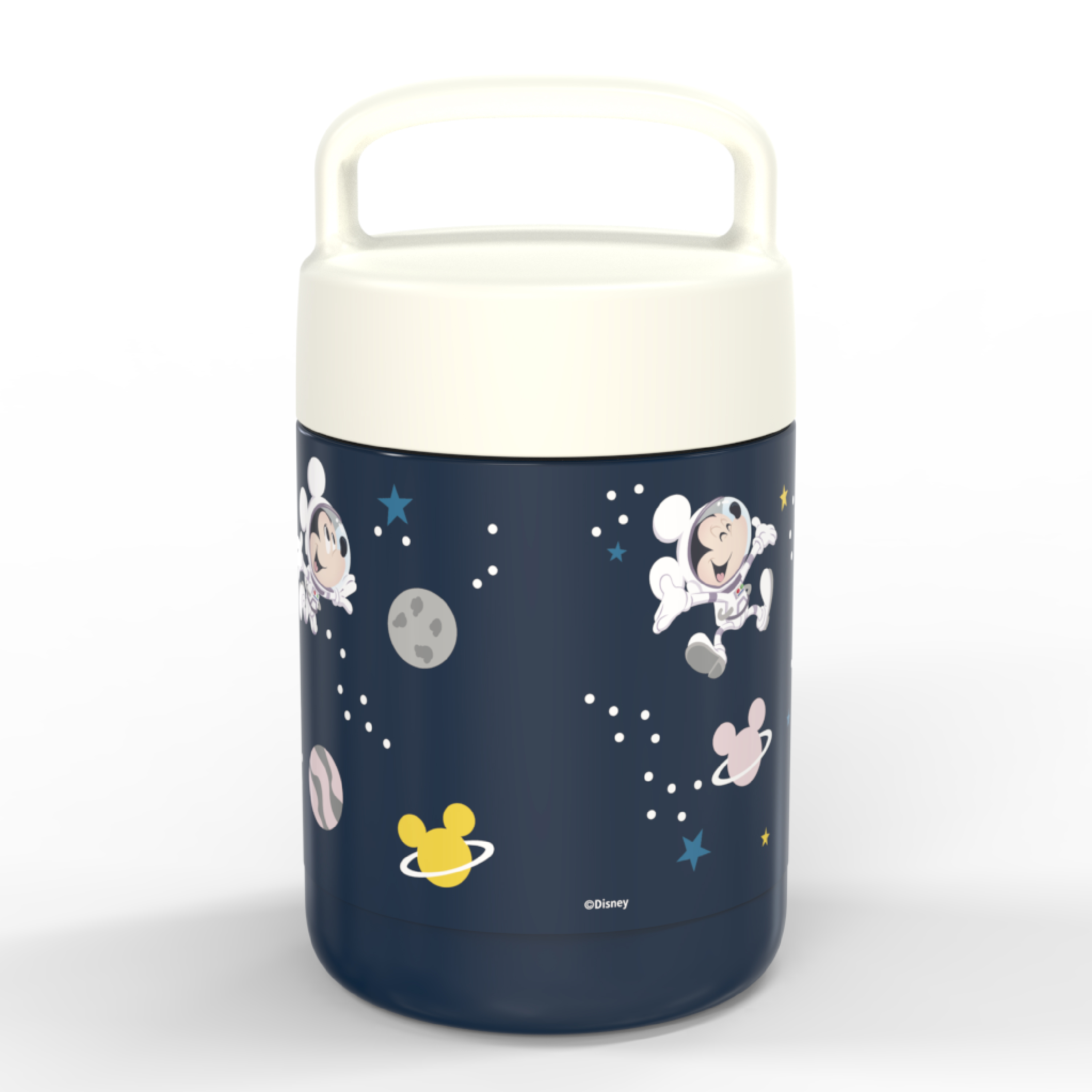 Disney Reusable Vacuum Insulated Stainless Steel Food Container, Mickey Mouse slideshow image 4