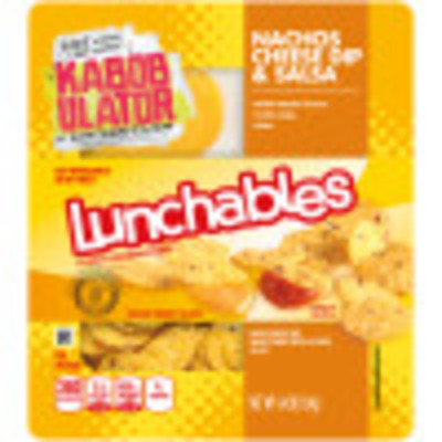 Lunchables Convenience Meals Nachos 4.4 oz Tray