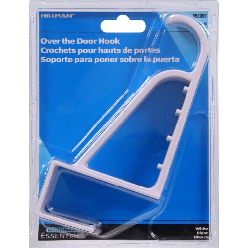 Hardware Essentials Over the Door Hook Large Plastic
