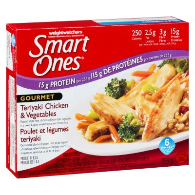 Smart Ones Teriyaki Chicken and Vegetables Frozen Meal