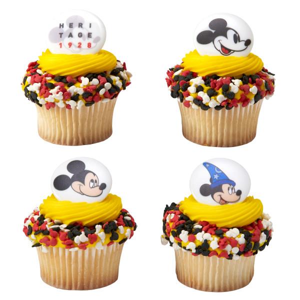 Mickey Heritage 1928 Cupcake Rings