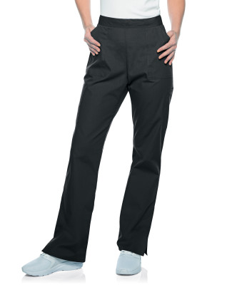 Landau ScrubZone Scrub Pants for Women:5 Pockets, Modern Tailored Fit, Straight Leg 83223-