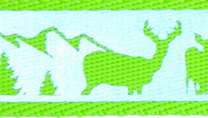 Remington Adjustable Reflective Dog Collar