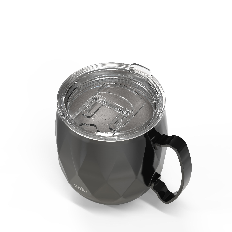 Fractal 19 ounce Vacuum Insulated Stainless Steel Mule Mug, Black slideshow image 5