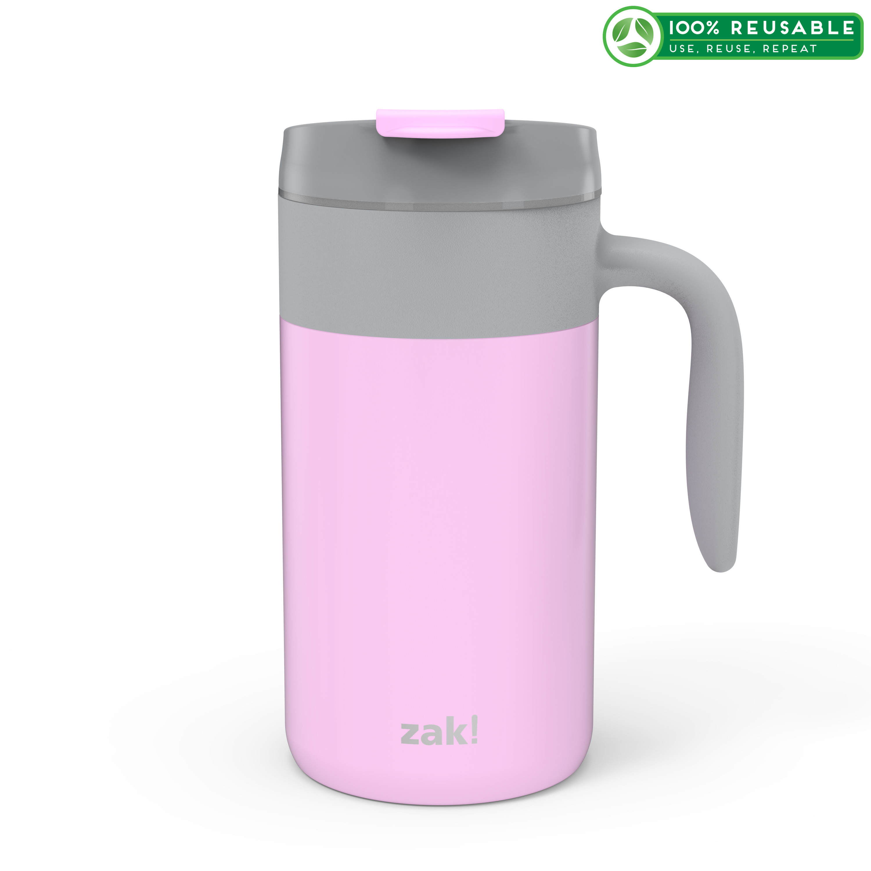 Aberdeen 20 ounce Vacuum Insulated Stainless Steel Tumbler, Lilac slideshow image 1