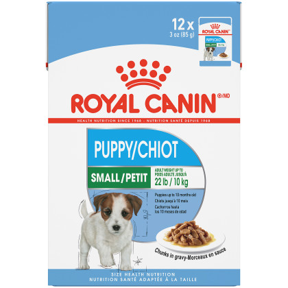 Small Puppy Pouch Dog Food