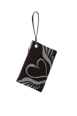 Smitten WRISTTAKER Wristlet Handbag with Internal Mesh Pockets Nurse Bag-