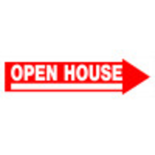 Open House Sign With Frame 6
