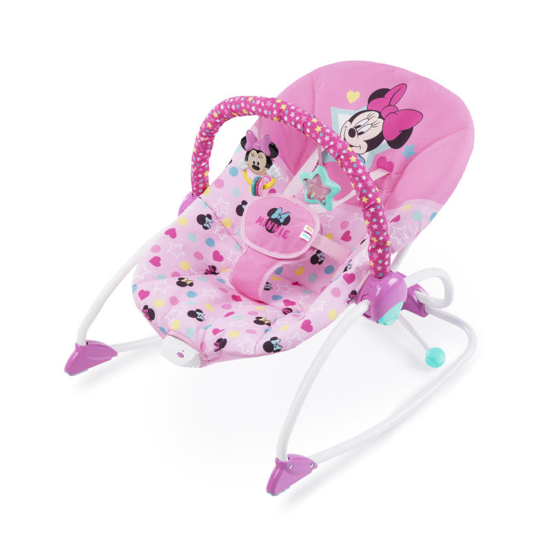 MINNIE MOUSE Stars & Smiles Infant to Toddler Rocker™