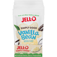 Jell-O Simply Good Vanilla Pudding 3.9 oz Pouch