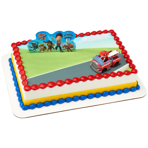PAW Patrol™ Just Yelp For Help PhotoCake® Edible Image® DecoSet® Background