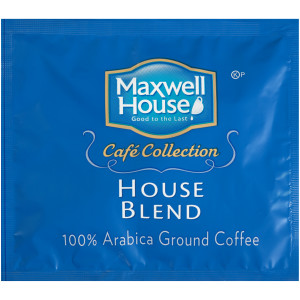 MAXWELL HOUSE Café Collection Roast & Ground In-Room Coffee, 0.5 oz. Packet (Pack of 100) image