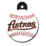 Houston Astros Large Circle Quick-Tag