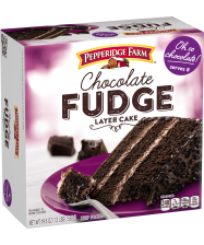 (19.6 ounces) Pepperidge Farm® Chocolate Fudge 3-Layer Cake