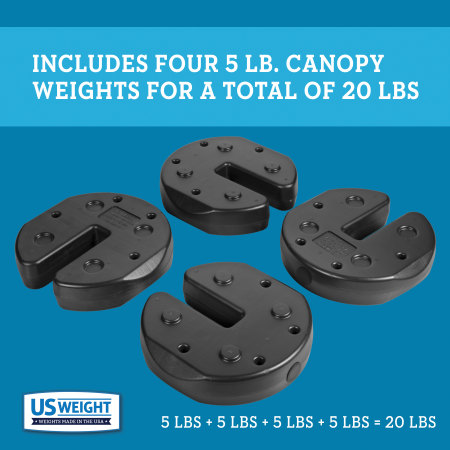 Tailgater Canopy Weights - 20 lbs. 3