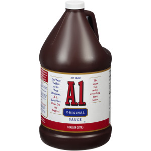A.1. Steak Sauce, 1 gal. Jugs (Pack of 2) image