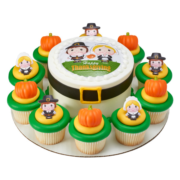 Traditional Pumpkin Cupcake Rings