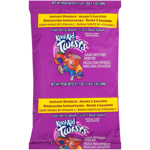 Kool-Aid Grape Berry Splash Powdered Drink Mix, 21.1 oz. Pouch (Pack of 15) image