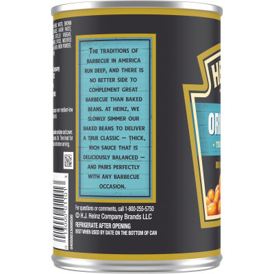 Heinz Original Thick & Rich BBQ Baked Beans 16 oz Can