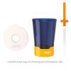 Zak Hydration 16 ounce Mighty Mug Tumbler with Straw, Navy slideshow image 6