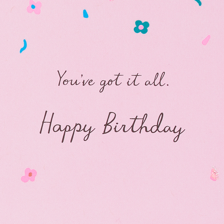 Purrsonality Birthday Card image