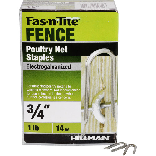 Poultry Net Staples -- 1lb