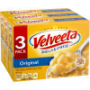 Kraft Velveeta Original Shells & Cheese Dinner, 3 - 12 oz Boxes