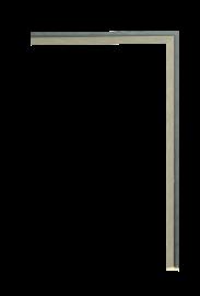 Zen Fillet Dark Silver 3/8