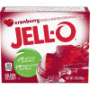 Jell-O Cranberry Gelatin Mix, 3 oz Box
