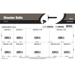 "Elevator Bolts Assortment (5/16""-18 Thread)"