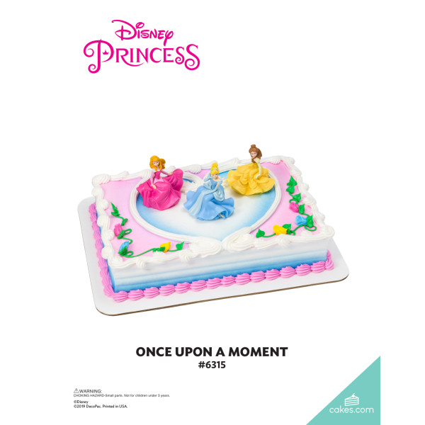 Disney Princess Once Upon a Moment DecoSet® The Magic of Cakes® Page