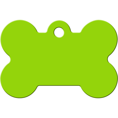 Chevrons Green and White Large Bone Quick-Tag 5 Pack