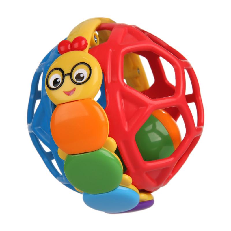 Bendy Ball Rattle Toy Baby Einstein Kids2