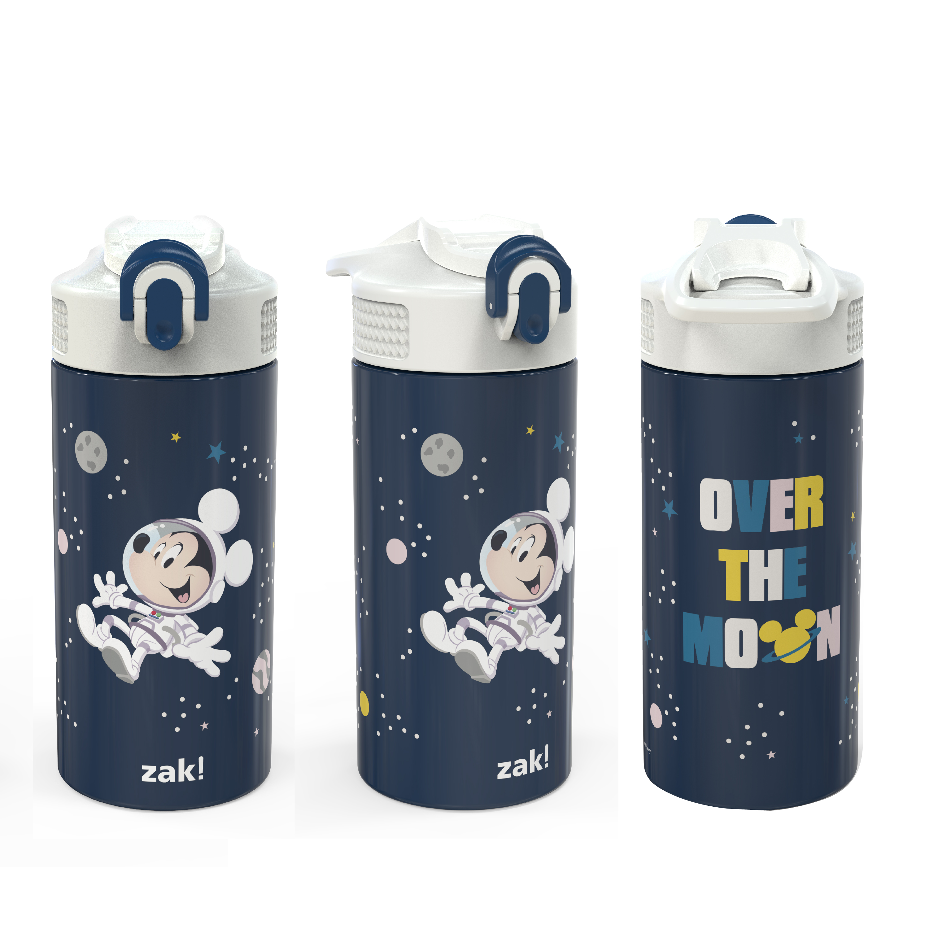 Disney 14 ounce Stainless Steel Vacuum Insulated Water Bottle, Mickey Mouse slideshow image 2
