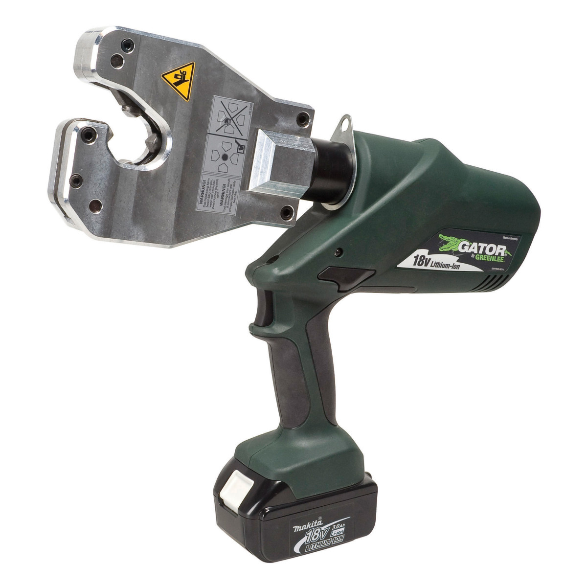 GRTEK06ATCL120 QUAD-POINT CRIMPING TOOL W/120 VAC ADAPTER, GREENLEE