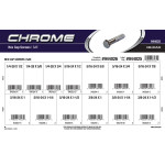 Chrome SAE Hex Cap Screws Assortment