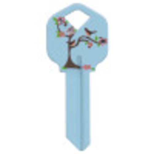 Birds in a Tree Key Blank Kwikset/66 KW1