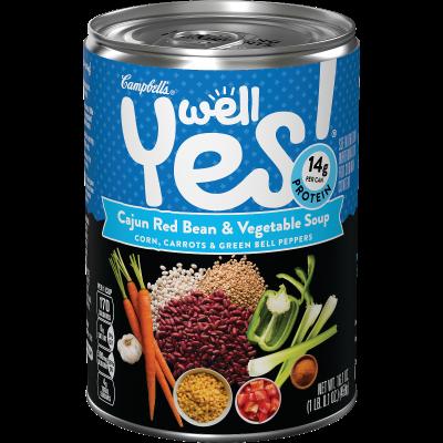 Cajun Red Bean & Vegetable Soup