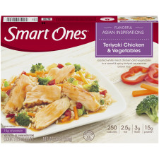 Weight Watchers Smart Ones Flavorful Asian Inspirations Teriyaki Chicken & Vegetables 9 oz Box